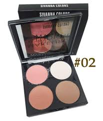 sivanna 4 colors makeup studio cheek