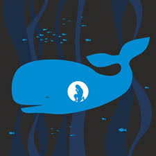 Jonah Whale Silhouette Hand Wall Decal Wallmonkeys Com
