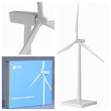 plastic wind turbine model for office