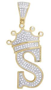 diamond crown initial letter