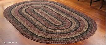 blackberry braided jute area rugs