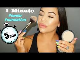 5 minute full face makeup routine