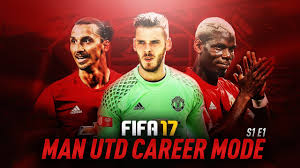 fifa 17 manchester united career mode