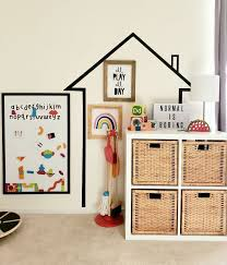 Easy Kids Playroom Ideas Small Spaces In 2020 Playroom Wall Decals Playroom Paint Kids Playroom