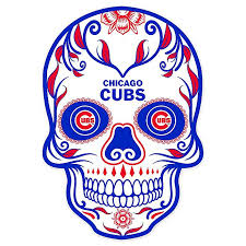 Mlb Chicago Cubs Skull Graphic Decal Bed Bath Beyond