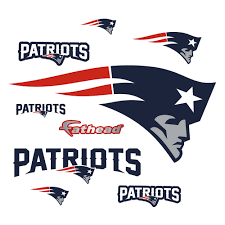 New England Patriots Logo Giant Officially Licensed Nfl Removable Wall Decal New England Patriots Logo New England Patriots New England Patriots Football