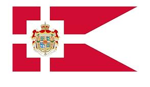 DIPLOMAT-FLAGS Royal Standard of Denmark Flag | landscape flag | 0.06m² |  0.65sqft | 18x35cm | 7x13inch Car Flag Poles: Amazon.co.uk: Garden &  Outdoors