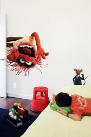 New From Blik Muppet Decals For Your Walls Animal Wall Decals Muppets Kids Room