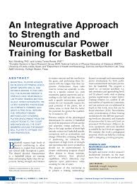 an integrative approach to strength and