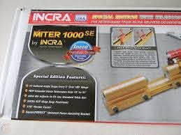Incra Miter 1000se Miter Gage Metric Racks And Scales 1925977017