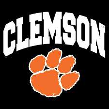Clemson Tigers Arc Paw Decal Upstate Tailgate Inc