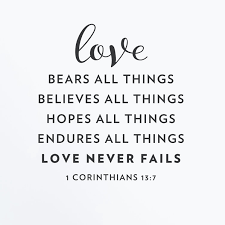 Winston Porter Love Never Fails Corinthians 13 7 Wall Decal Wayfair