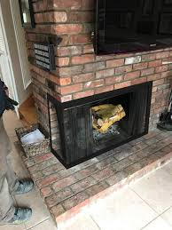 fireplace glass doors project 10132