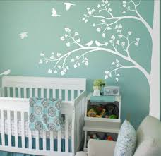 Huge Corner Tree Wall Sticker Leaves And Birds Vinyl Wall Decal Kids Room Nursery Decor Nature Large Tree Wall Mural Ay1338 Wall Stickers Aliexpress