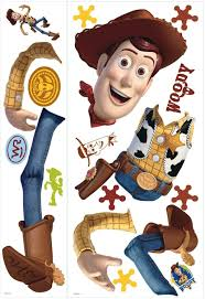 Amazon Com Roommates Toy Story Woody Giant Peel And Stick Wall Decal Rmk1430gm Home Improvement