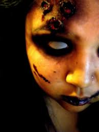 zombie makeup how to create a face