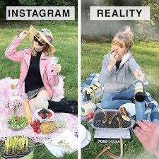 Instagram Vs Reality By Geraldine West : Pictures - Page 4 - Forums 4 Fun