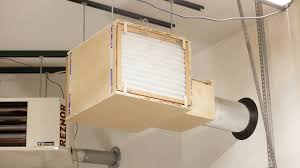 air cleaner and paint booth