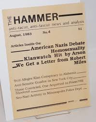 The Hammer; no. 4, August 1983 Anti-racist, anti-fascist news and ...