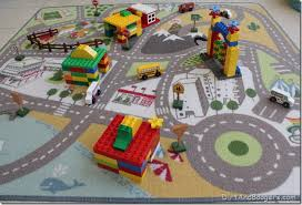 duplo houses and roads