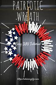 simple patriotic wreath tutorial a