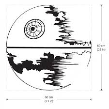 Star Wars Death Star Vinyl Wall Art Decal