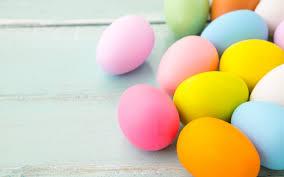 تحميل خلفيات بيض عيد الفصح الملونة قرب سعيد عيد الفصح عطلة