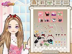 cute doll makeup game play at