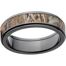 camo 6mm black zirconium wedding band