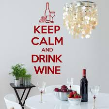 Keep Calm And Drink Wine Wall Art Vinyl Room Sticker Decal Kitchen Quote Wall Decals For Bedroom Wall Decals For Bedrooms From Onlinegame 9 5 Dhgate Com