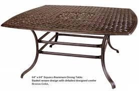 cast aluminum outdoor patio furniture