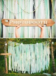 pretty photo booth backdrop ideas with