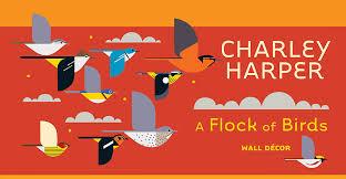Charley Harper A Flock Of Birds Wall Decor