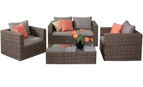 garden furniture rattan wicker sofa set
