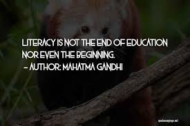 top quotes sayings about education mahatma gandhi