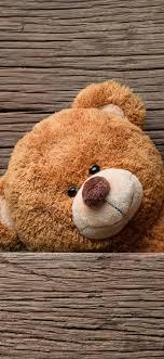 teddy bear wood board 1125x2436 iphone