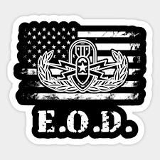Us Army Eod Logo Gifts Military Sticker Teepublic Au
