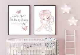Fairy Typography Art Print For Children In 2020 Kids Room Artwork Kids Room Prints Kids Artwork