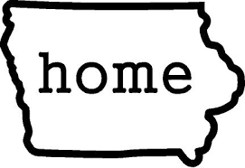 Iowa Home Decal State Decals
