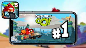 Старая версия Angry birds go Прохождения - YouTube
