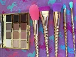 tarte magic wand brush set unicorn