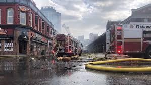 fire in ottawa s historic byward market