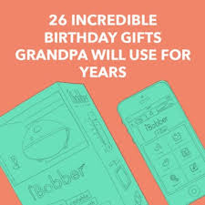 birthday gifts for grandpa