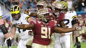 ESPN.com - Florida State is glad Derrick Nnadi left his singlet behind in  favor of a helmet