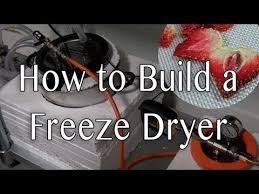how to build a freeze dryer you