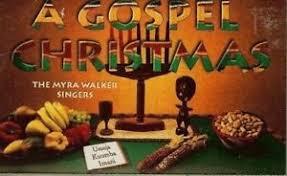 A GOSPEL CHRISTMAS - THE MYRA WALKER SINGERS - CASSETTE TAPE - NEW ...