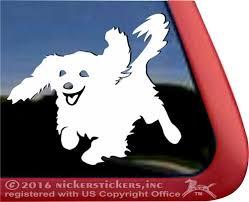 Custom Cavalier King Charles Spaniel Dog Decals Stickers Nickerstickers
