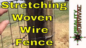 Reality Survival Ranch Ep 7 Stretching Woven Wire Fence Youtube