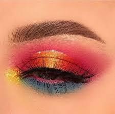 28 pretty rainbow makeup ideas inspira