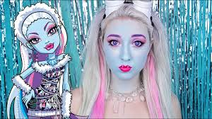 abbey bominable monster high makeup